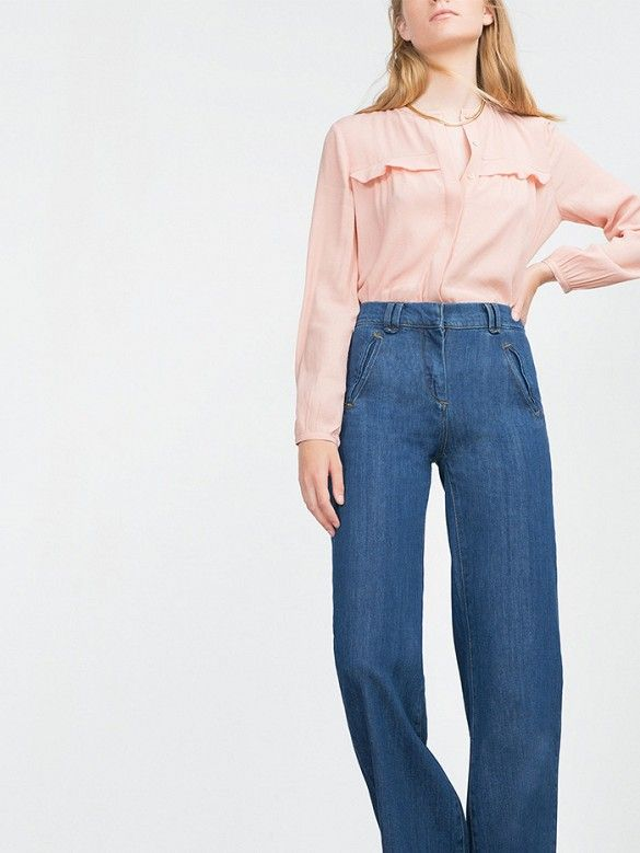 12 High-Waisted Bottoms for the Girl With Too Many Crop Tops via @WhoWhatWear