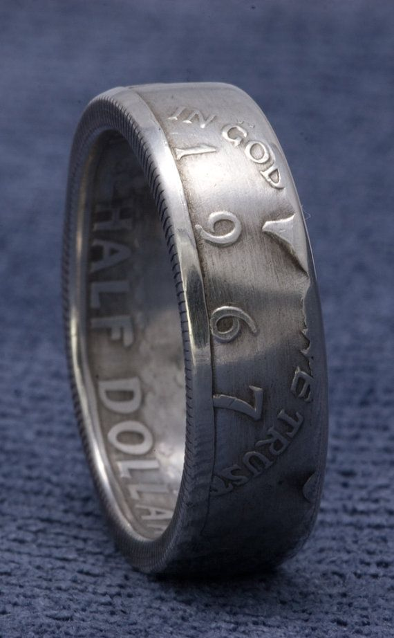 42 best images about Silver Half Dollar Coin Rings on Pinterest ...
