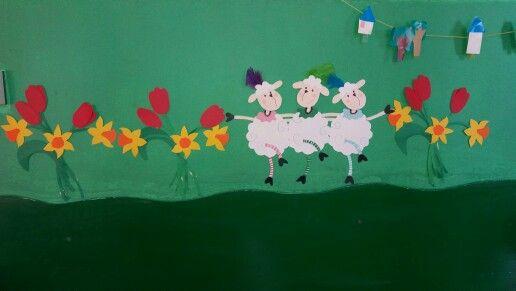 Προβατάκια με λουλουδάκια!
