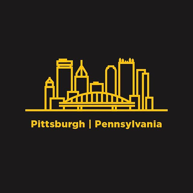 An illustration for and upcoming project, but wanted to show The Burgh some love. And heres to a Steelers win this weekend!