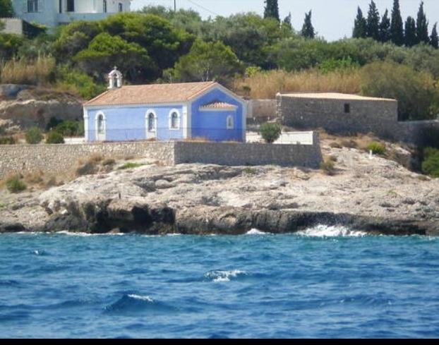 Agia Marina Spetses greece