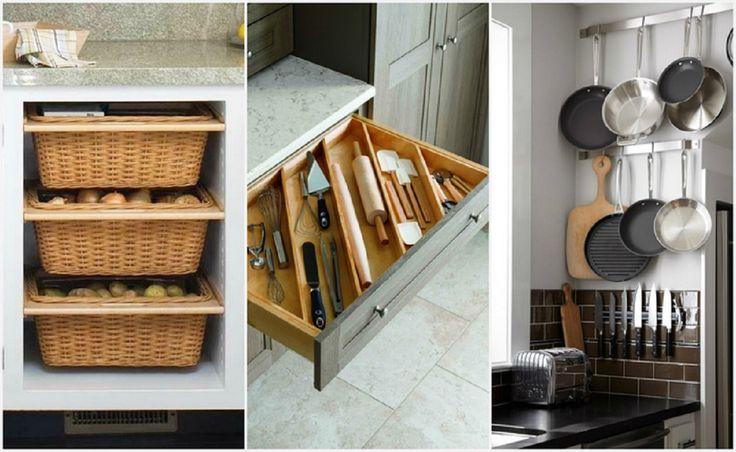 Kicsi a konyhád? 20 ötlet, hogy minden elférjen, a legkisebb konyhában is!