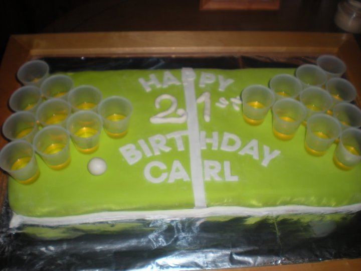 21st birthday cake idea for my brother! @Andrea / FICTILIS / FICTILIS Gaylord we should make this for Kyle!!
