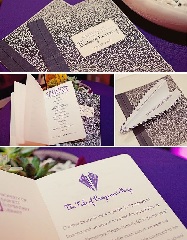 39 best wedding invitations and print materials images on pinterest composition book wedding program wedding weddinginvitations stopboris Choice Image