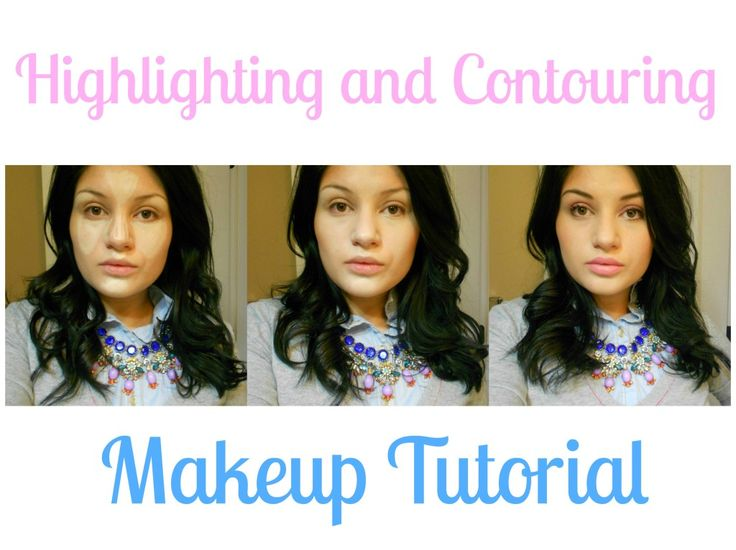 Highlight and contouring... With cheap products I actually use!! This actually looks easy! :p