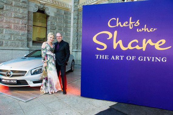 2015 Chefs Who Share The Art of Giving Cape Town Soiree...