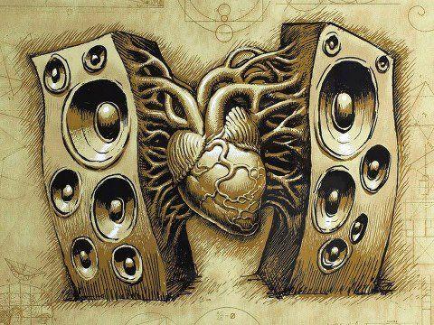 16.- Eso sí, la música siempre en mi corazooooón...