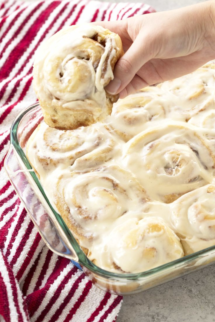 Best Homemade Cinnamon Rolls Ever-This recipe is hands down the Best Homemade Cinnamon Rolls Ever. The perfect soft, fluffy, gooey cinnamon rolls are right at your fingertips.