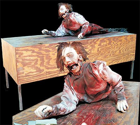 Scarefactory Haunted House Furniture Effects Levitating Beds Animated Haunted