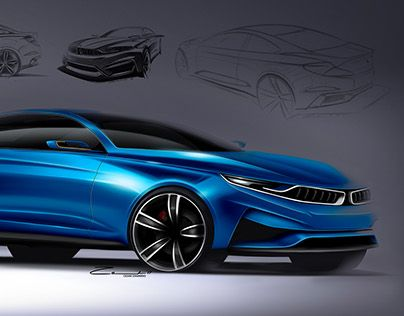 """BMW Proposal - by Cesar Zanardo  Check out new work on my @Behance portfolio: """"BMW 2 Series Proposal"""" http://be.net/gallery/51413537/BMW-2-Series-Proposal"""