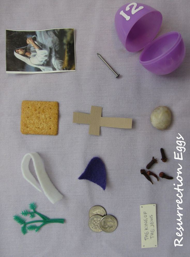Resurrection Eggs - a great way to share the real meaning of Easter with your kids.