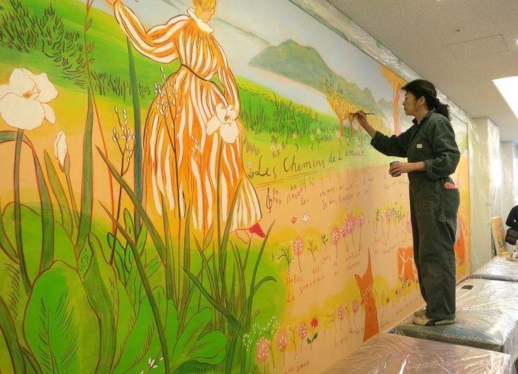 西日本初開催! 『山本容子展 アート イン ホスピタル』その3 | 阪急うめだ本店・スタッフブログ