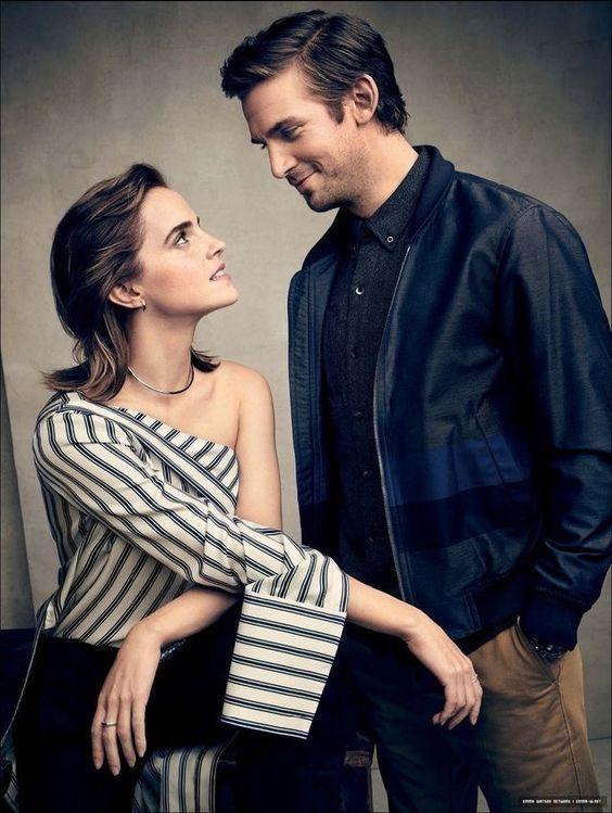 Emma Watson & Dan Stevens