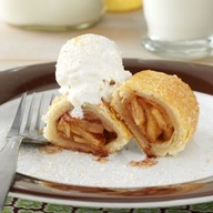 Mini Apple Turnovers Recipe from Taste of Home -- Submitted by Merrill Powers, Spearville, Kansas
