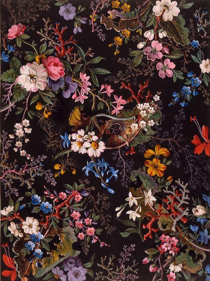 Textile Design, C.1788-92 Drawing