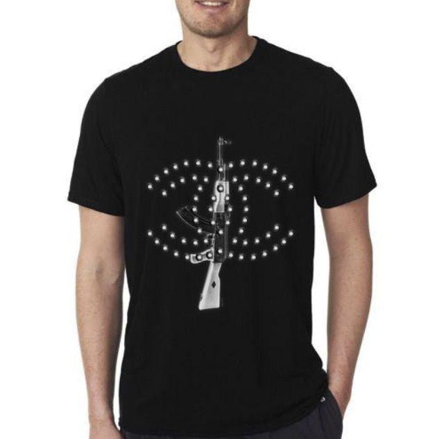New #TShirt #AK47 #Rifle #Chanel