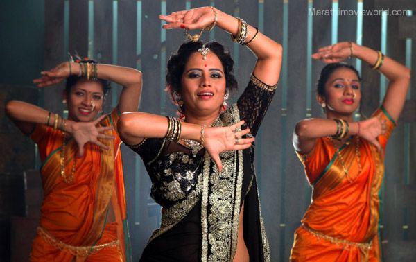 Actress Smita Tambe, Lavani, dance