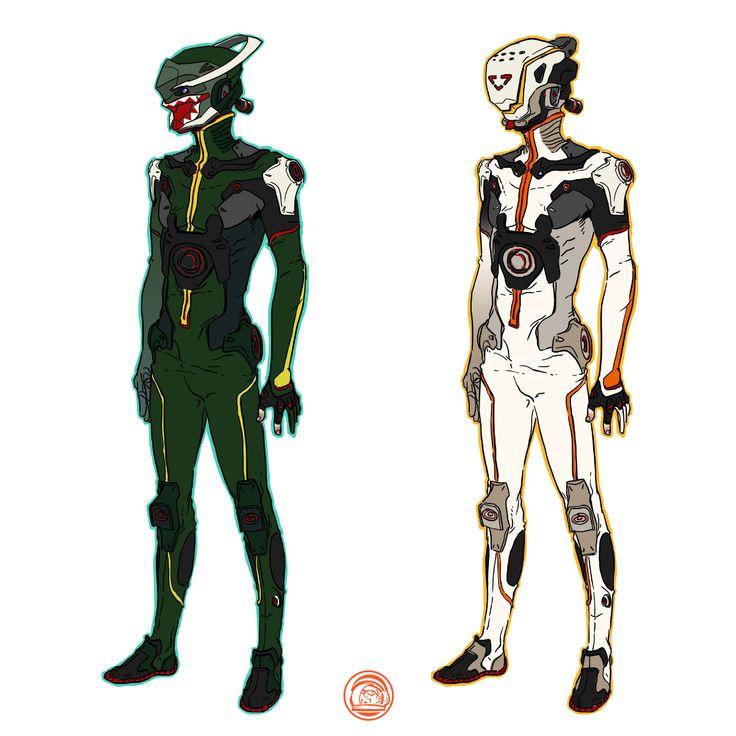 DEPOT 977 - Mecha design studios about sci-fi suit and helmet... follow me: www.facebook.com/... | www.depot977.com #deckard977 #depot977