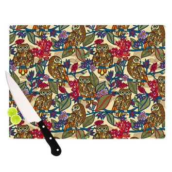 You'll love the My Boobooks Owls Cutting Board at Wayfair - Great Deals on all Kitchen & Dining  products with Free Shipping on most stuff, even the big stuff.#homedeco #kessinhouse #cuttingboard #pattern #decoration #tropical #owl #kitchen