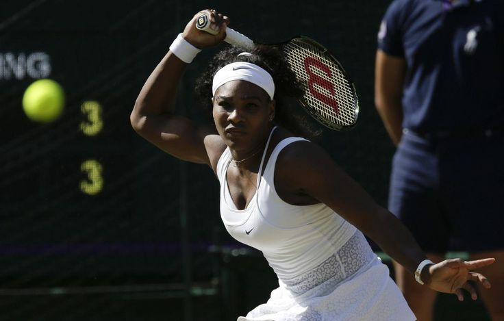 Serena Williams has now beaten Maria Sharapova in 17 straight matches. (AP)