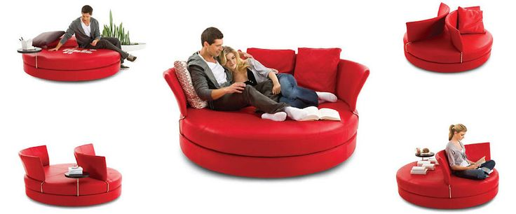 Delta Circle Sofa from King Furniture.