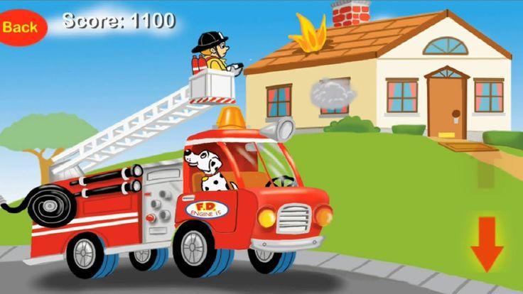 Brinquedos infantil/videos de criançinhas/caminhão de bombeiros/jogos fo...