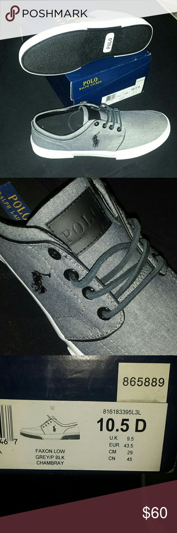 BNIB Polo Ralph Lauren faxon low mens shoes Bought for my ex's brother.... ended up not being with my ex when his brothers birthday came around. Still have the receipt... Just asking what I paid :) Polo by Ralph Lauren Shoes