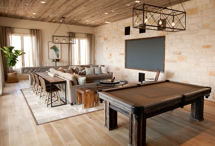 Add table and chairs behind the couch!  What a great way to add additional seating when watching tv/entertaining!