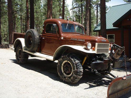 Find used 1953 B-3 Dodge Power Wagon in Portola, California, United States