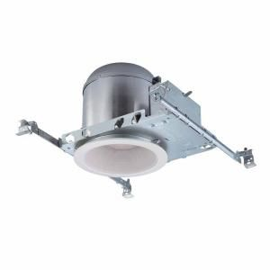 Commercial Electric 6 in. White Recessed Lighting Housings and Trims (6-Pack) CER105 at The Home Depot - Mobile