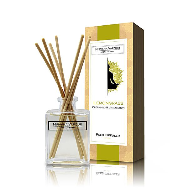 Nirvana Vapour Aromatherapy Lemongrass Diffuser: One of the most popular oils in the world for its clean and pleasing fragrance, Lemongrass has long been used as an antidote to nervous conditions, rheumatism and indigestion. Research has found its' refreshing aroma also serves to sharpen focus while reducing symptoms of irritability and headache. Namaste.
