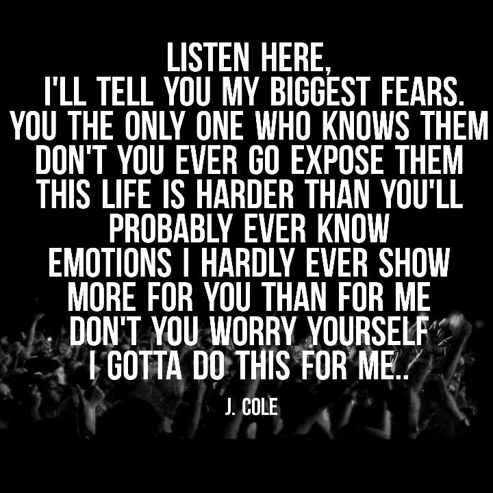 J Cole Song Quotes: 115 Best Images About Lyrics & Quotes On Pinterest