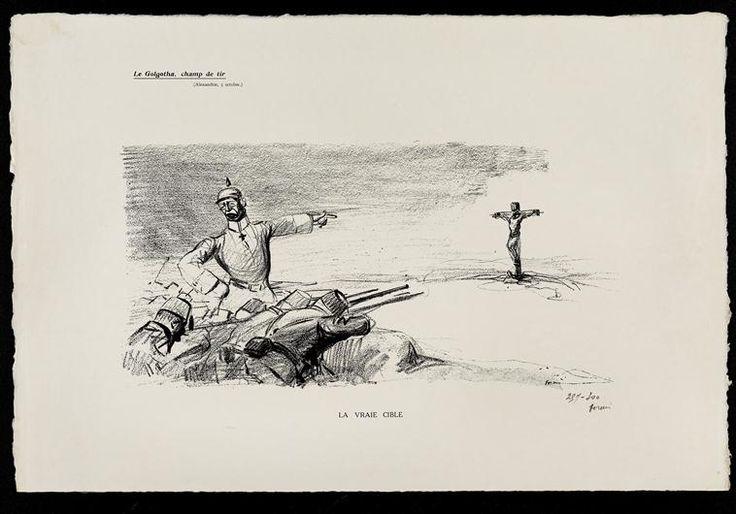Jean-Louis Forain   Le Golgotha, champ de tir - Aléxandrie, 5 octobre   Images d'Art