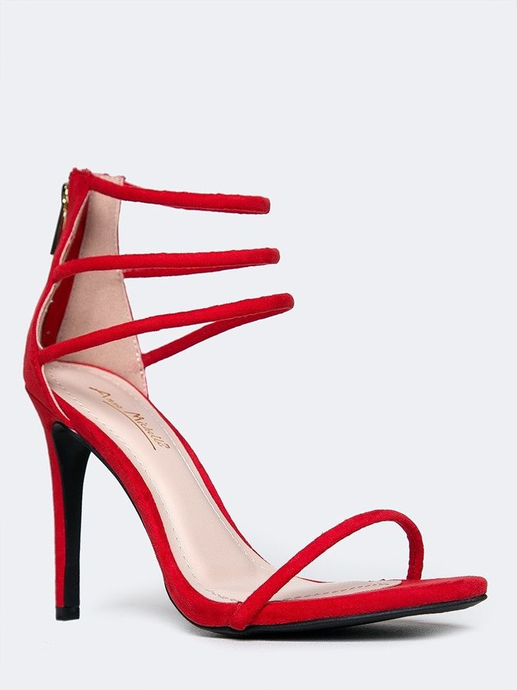 Best 25  Strappy high heel sandals ideas on Pinterest | Pumps ...