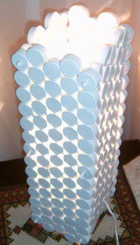 BOTTLE CAP LAMP
