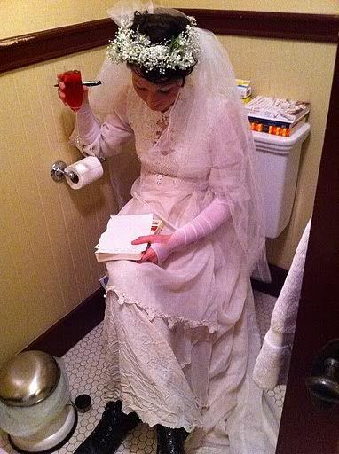Amanda Palmer writes her wedding vows