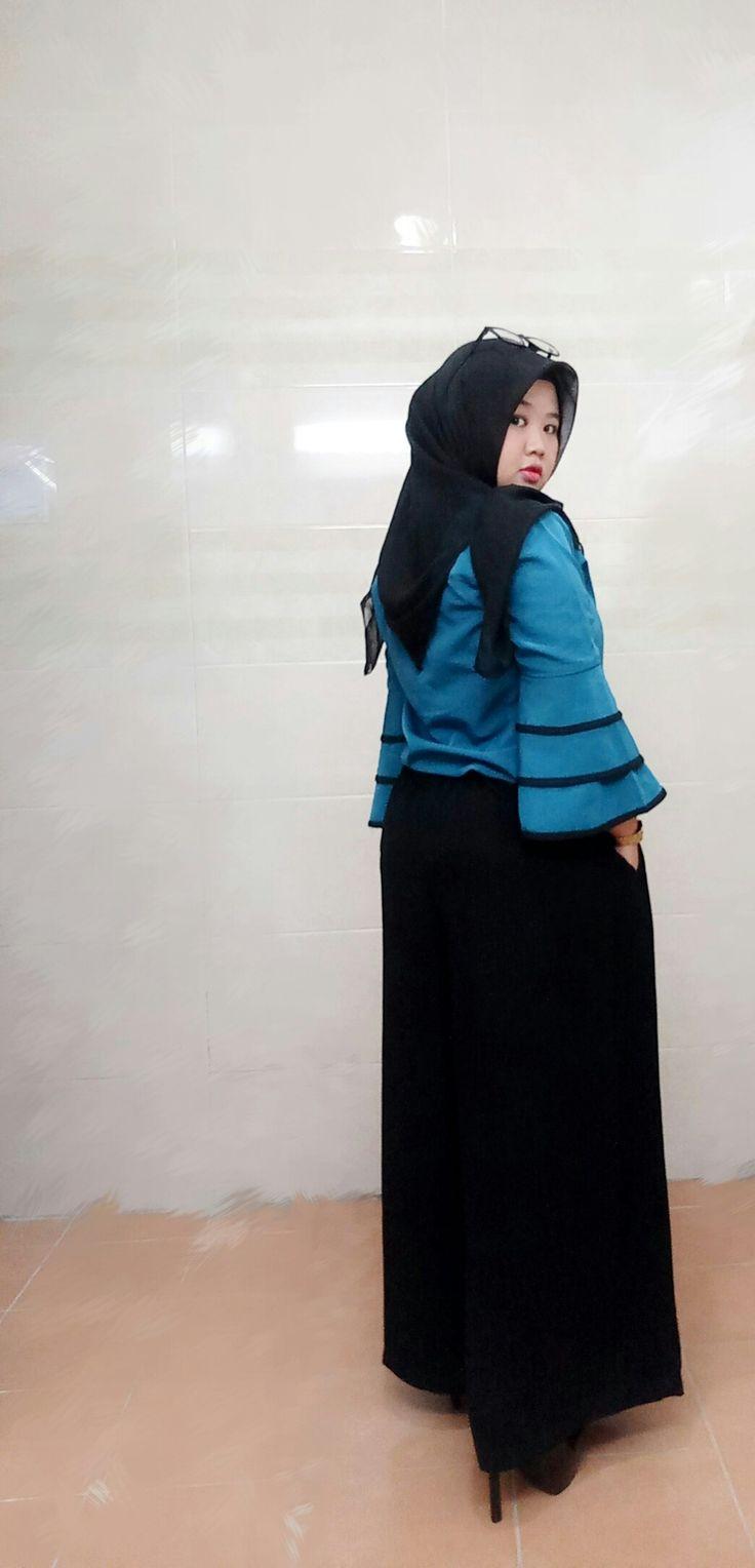 #plussize #hijab #hotd #ootd