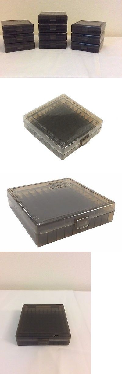 Holders and Boxes 71116: Berry S Ammo Boxes 10 Smoke Grey 9Mm 25 30 380 Acp 9X18ma 30 Luger 100 Round 001 -> BUY IT NOW ONLY: $38.81 on eBay!