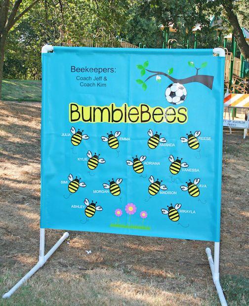 DIY soccer banner and a vinyl giveaway! Ends Sept. 8, 2014