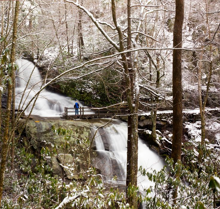 Laurel Falls - This gorgeous hike is a must for those wanting to experience nature. http://www.visitmysmokies.com/blog/smoky-mountains/top-5-fall-smoky-mountain-hiking-trails-in-wears-valley/