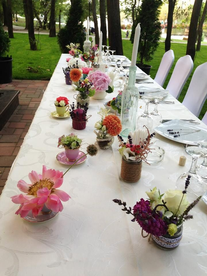 Bride and groom table!