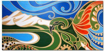 Art by Shane Hansen, New Zealand, www.kiwifinch.com