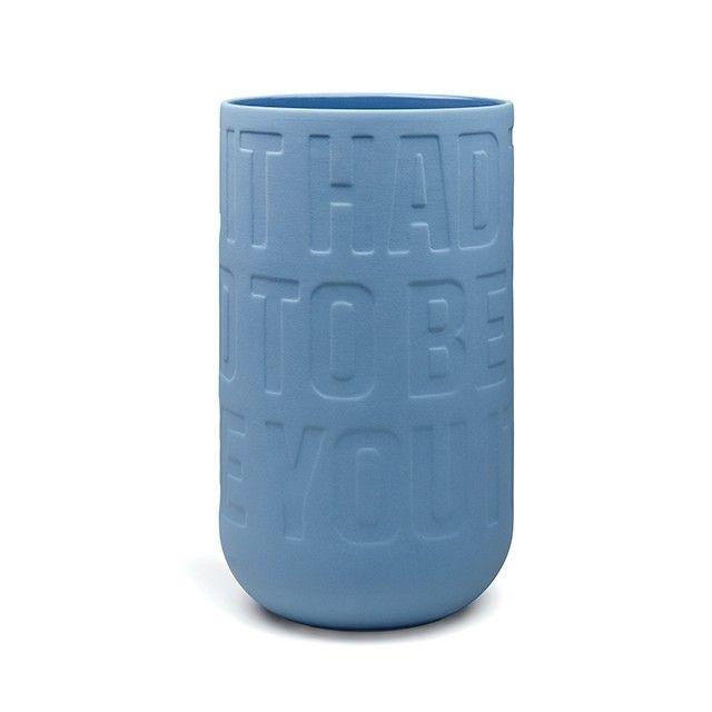 Love Song Vase Indigo Large