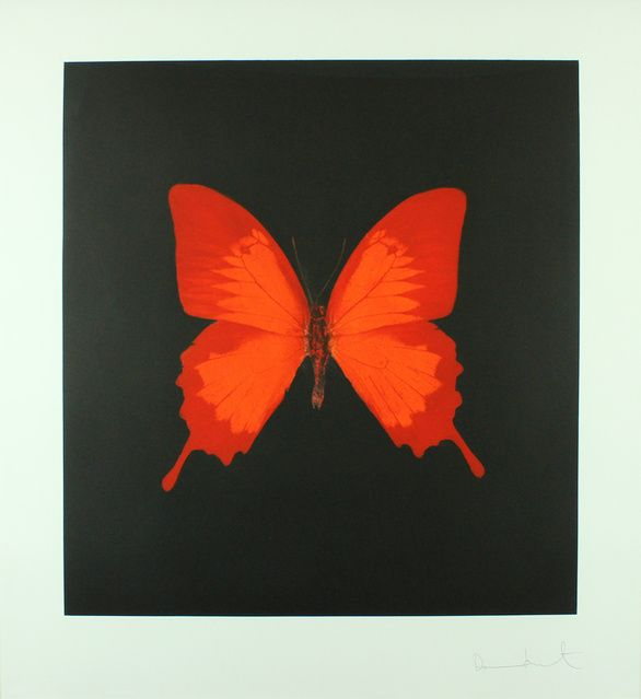 Damien Hirst | The Souls on Jacob's Ladder Take Their Flight (Large Red) (2007) | Available for Sale | Artsy