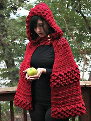 Free Crochet Patterns Red Riding Hood : 17 Best images about DIY - Crochet Poncho on Pinterest ...