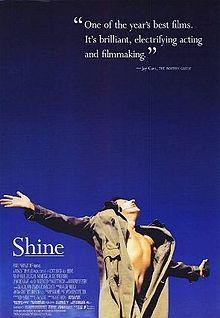 """""""Shine""""Film, Scott Hicks, Movie Posters, L'Wren Scott, Shinee 1996, The Piano, Stars, Geoffrey Rush, True Stories"""