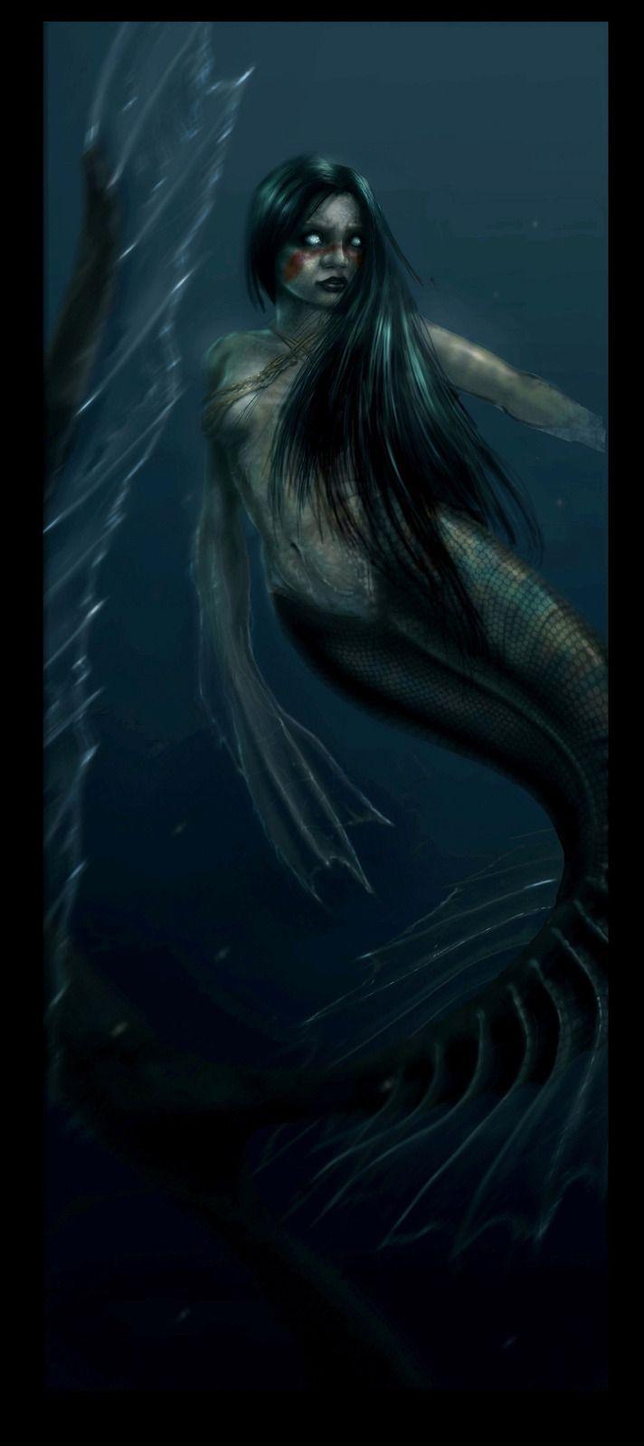 Pin by Amethystine Acolyte on lovecraft | Mermaid ...