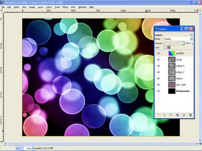 Cool photo effects and other tutorials in GIMP (this one is Bokeh)