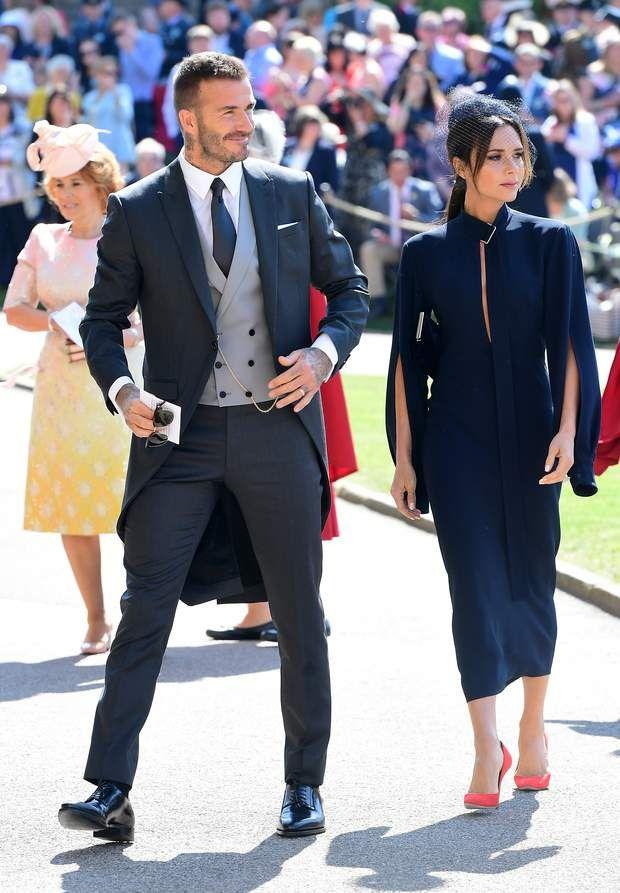 David et Victoria Beckham | Mariage Harry et meghan en 2019