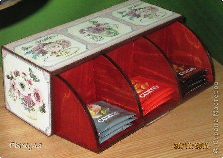 Декор предметов Декупаж Чайный домик нооовой конструкции    фото 2